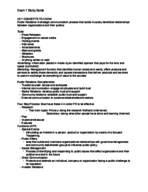 PUR 3000 - Study Guide