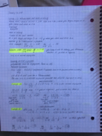 MATH 209 - Class Notes - Week 2