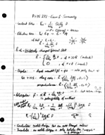 PHYS 27200 - Study Guide