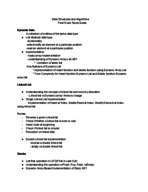 CSC 228 - Study Guide