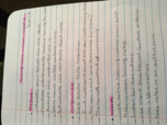 college class notes