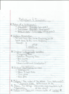 STAT 2810 - Study Guide