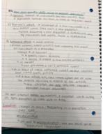 BIO 10110 - Class Notes - Week 4