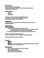 USA - BLY 102 - Class Notes - Week 5