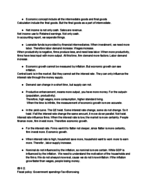 UCONN - ECON 2202 - Class Notes - Week 4
