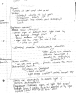 BSC 2011 - Class Notes - Week 5