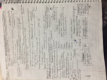 BIO 2012101 - Class Notes - Week 4