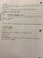 Rockland Community College - PSY 206 - Class Notes - Week 2