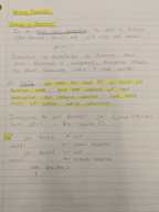 CSE 230 - Class Notes - Week 6