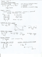 PHYS 133 - Class Notes - Week 5