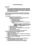 Penn State - MICRB 201 - Study Guide - Midterm