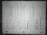 CHM 2046 - Class Notes - Week 6