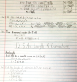 MATH 2419 - Class Notes - Week 6