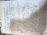 ECON 2010 - Class Notes - Week 6