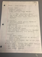 BGSU - BIOL 2040 - Class Notes - Week 6