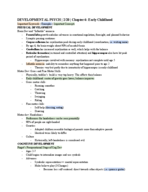 ND - PSY 3020003 - Class Notes - Week 6
