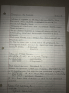 CHM 2046 - Class Notes - Week 7