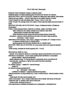 WMU - PHYS 1000 - Study Guide - Midterm