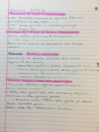 BIOL 240 - Class Notes - Week 5