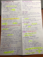PHYS 1062 - Study Guide