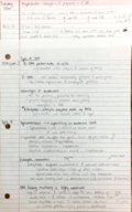 BSCI  222 - Class Notes - Week 5