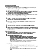 University of Hartford - PSY 130 - Class Notes - Week 3