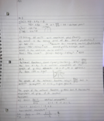 TTU - MATH 1331 - Class Notes - Week 8