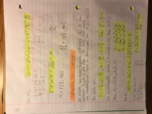 CHE 3023 - Class Notes - Week 8