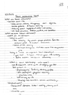 SOCI 2010 - Class Notes - Week 6