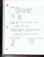 Texas State - CHEM 1342 - Class Notes - Week 8