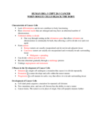 BSCI 10001 - Study Guide