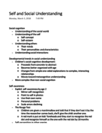 UA - PSYCH 107 - Class Notes - Week 8