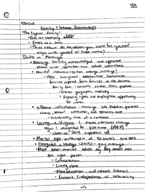 SOCI 2010 - Class Notes - Week 7