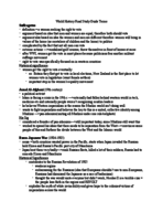 HIST 1011 - Study Guide