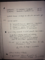 CSU - CHEM 113 - Class Notes - Week 8