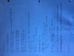 Concordia University - MATH 209 - Class Notes - Week 10