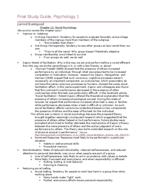 PSC 001 - Study Guide