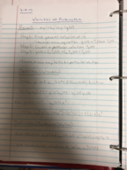 AU - MATH 2650 - Class Notes - Week 9