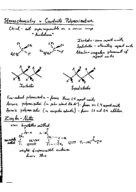 What is the meaning of stereochemistry?