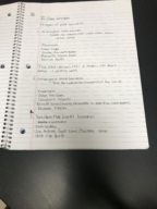 Geol 140102 - Class Notes - Week 4