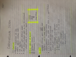 Texas State - BIO 2430 - Class Notes - Week 10
