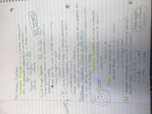 CHM 1045 - Class Notes - Week 11