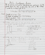 MATH 2419 - Class Notes - Week 12
