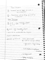 ND - MATH 10360 - Study Guide - Midterm