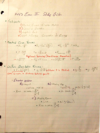 PHYS 1443 - Study Guide