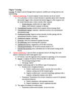 UIC - PSCH 100 - Study Guide - Midterm
