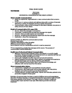 PSYC 3110 - Study Guide