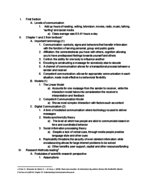 UCSB - COMM 1 - Class Notes - Week 1
