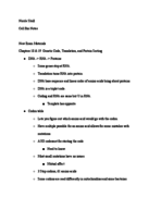 BSU - BIO 215 - Class Notes - Week 14