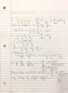 MATH 181 - Class Notes - Week 12